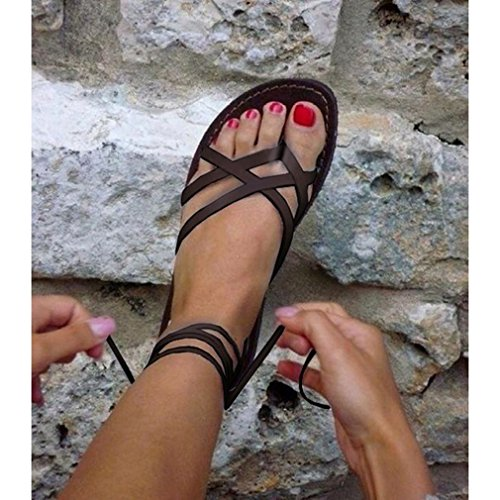 Estate Estive wuxi Scarpe da Spiaggia Romani Casual Scarpe Moda Elegant Sandali Lace Donna Sandali Scarpe up qIIrwEa5x