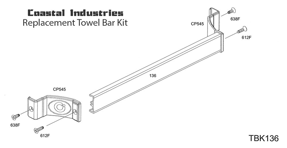 Replacement Towel Bar Parts Cheap Large Size Of