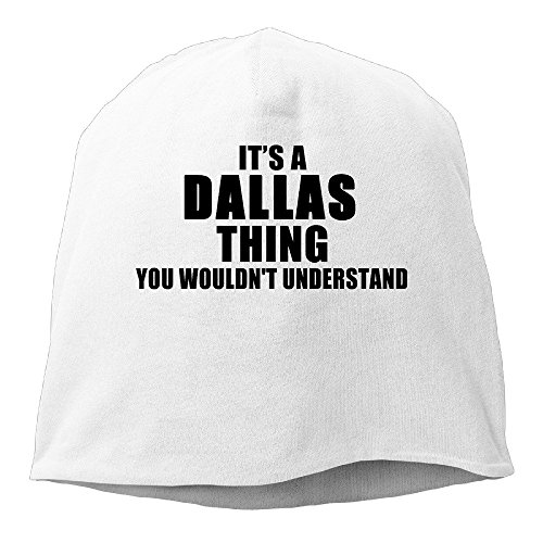 Mens Womens It's A Dallas Thing Slouch Beanie