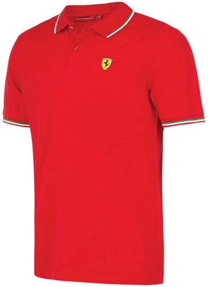 Scuderia Ferrari Polo Oficial Italia Rojo XXL: Amazon.es: Deportes ...