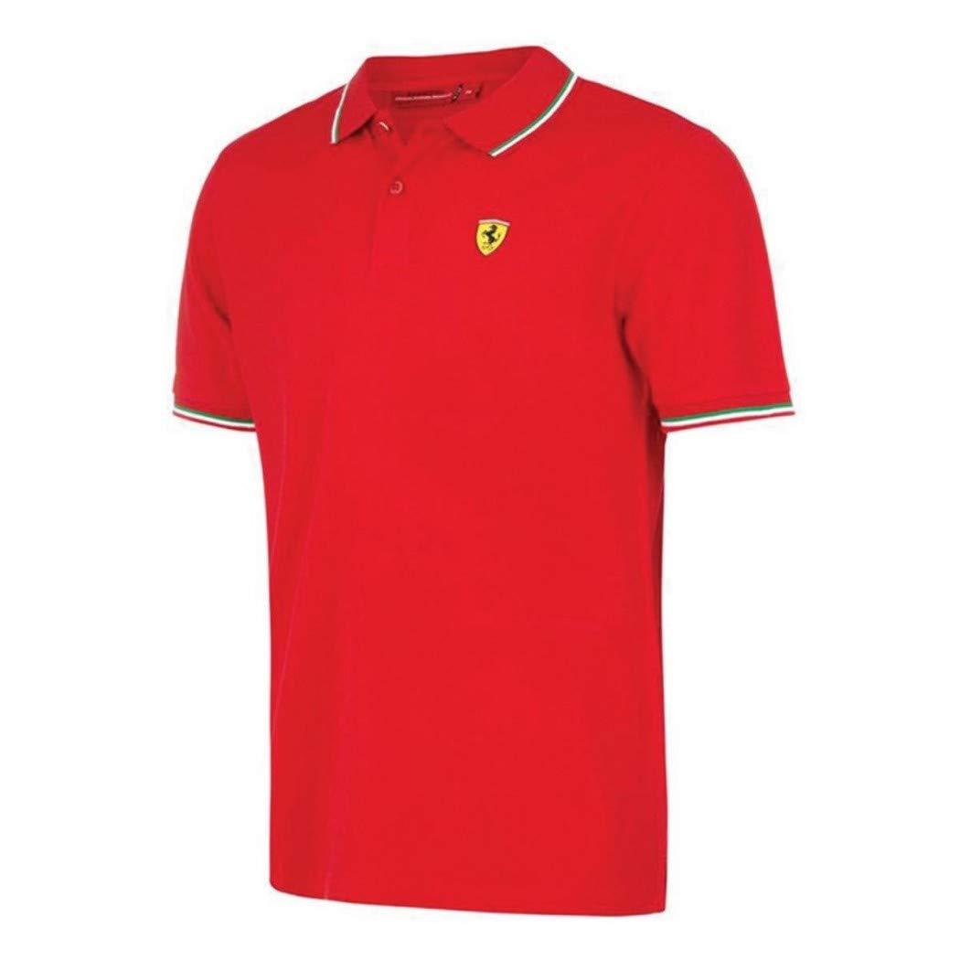 Scuderia Ferrari Polo Oficial Italia Rojo XL: Amazon.es: Deportes ...
