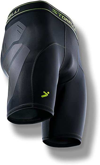 Storelli BodyShield Unisex Turf Burn Sliders Enhanced Lower Body Protection Compression Soccer Sliding Undershorts