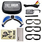 2018 Newest Version! Fat Shark FSV1063-04 Dominator V3 Headset FPV Video Goggles with 5.8G OLED Reciever And Antenna by ARRIS
