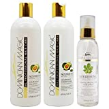 "Dominican Magic Nourishing Shampoo & Conditioner & Thermal Protector Hair Spray 6oz ""Set"" Review"