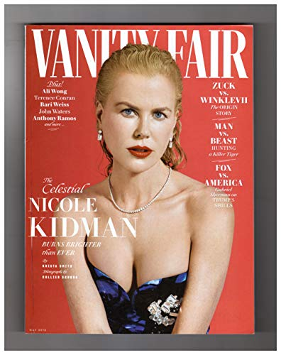 - Vanity Fair Magazine (May, 2019) Nicole Kidman Cover