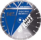 "14"" Segmented General Purpose Cutting Saw Diamond Blades 10mm for Concrete, Block, Brick"