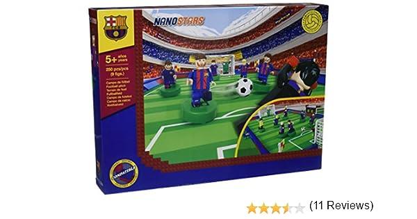 Nanostars FCB - Estadio con 9 figuras, 250 piezas (Giochi Preziosi ...