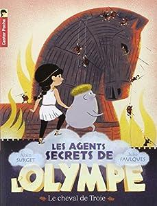 """Afficher """"Les agents secrets de l'Olympe n° 2 Le cheval de Troie"""""""