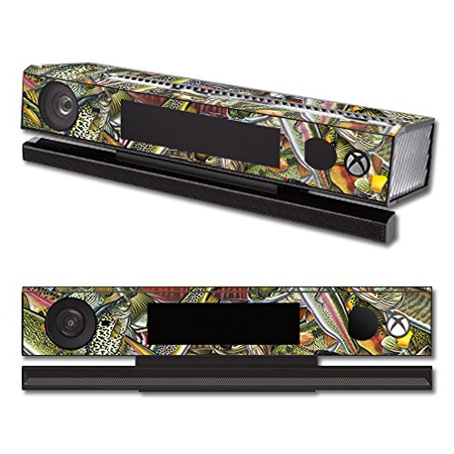 Price comparison product image Skin For Microsoft Xbox One Kinect – Fish Puzzle | MightySkins Protective, Durable, and Unique Vinyl Decal wrap cover | Easy To Apply, Remove, and Change Styles | Made in the USA
