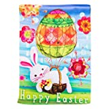 Cheap Easter Bunny Balloon Garden Flag