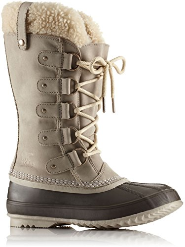 Sorel Women's Joan Of Arctic Lux Shearling Boot Ancient Fossil/Sea Salt 5 B(M) US