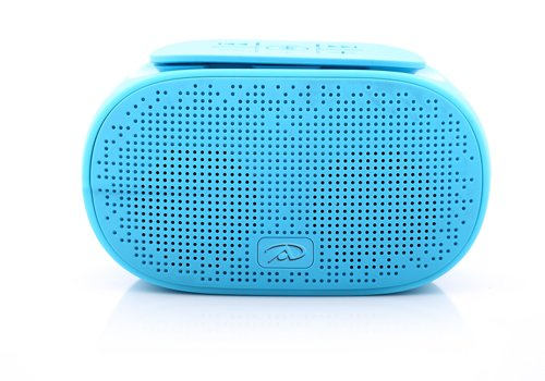 Irradio B-Sonido del Altavoz del Amplificador Integrado con Reproductor de MP3, Bluetooth, Azul