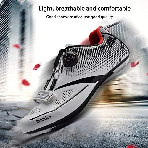 45 39 White Hommes Professionnelles De Cyclisme Chaussures Bualry qIzAt6nw