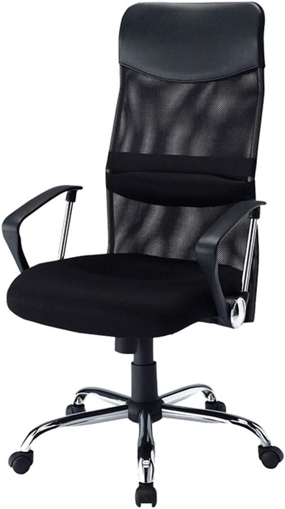 作業椅子 メッシュエグゼクティブスイベル 事務用椅子 人間工学に基づいた背もたれとシートの高さ 最大ひょう量80kg コンピューターチェア