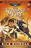 download ebook the throne of fire: the graphic novel (the kane chronicles book 2) (kane chronicles graphic novels) by rick riordan (2015-10-06) pdf epub