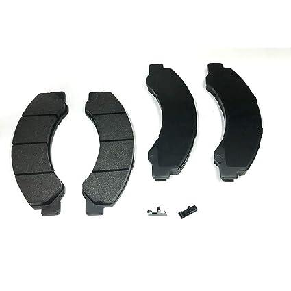 Amazon com: Brake Pad Kit Front for Isuzu NPR/NPR-HD 99/: Automotive