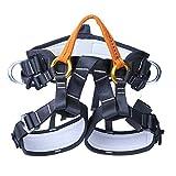 Jili Online Rock Climbing Tree Arborist Mountainrring Protection Harness Safety Sitting Seat Bust Belt Equipment