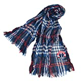 Littlearth NBA Washington Wizards Plaid Crinkle Scarf
