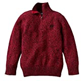 Product review for Chaps Quarter-Zip Pullover Sweater Boys 4-8
