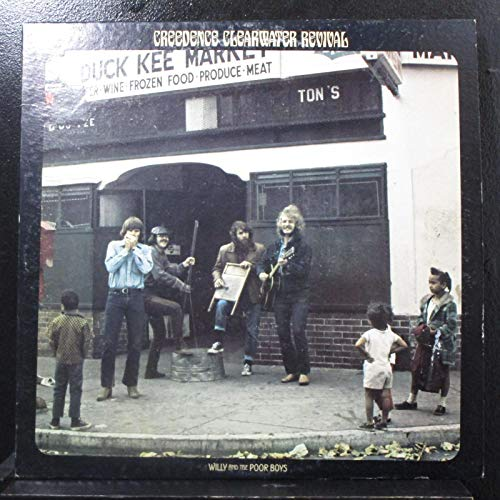 Creedence Clearwater Revival - Willy And The Poor Boys - Lp Vinyl Record