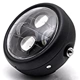 "TASWK Motorcycle Black 6.5"" Headlight Projector"