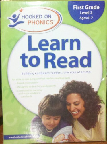 Hooked on Phonics Learn to Read- First Grade Level 2, Age 6-7 by Hooked on Phonics