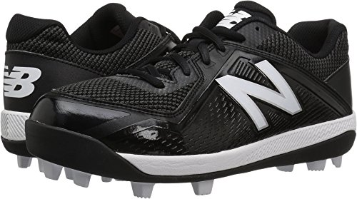 New Balance Boys' 4040v4, Black/Black, 5.5 M US Big ()