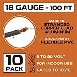 18 Gauge Primary Wire - 10 Roll Assortment Pack