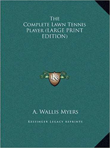 Book The Complete Lawn Tennis Player