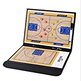 Basketball Coaching Board Coaches Clipboard Tactical Magnetic Board Kit With Dry Erase, Marker Pen and Zipper Bag