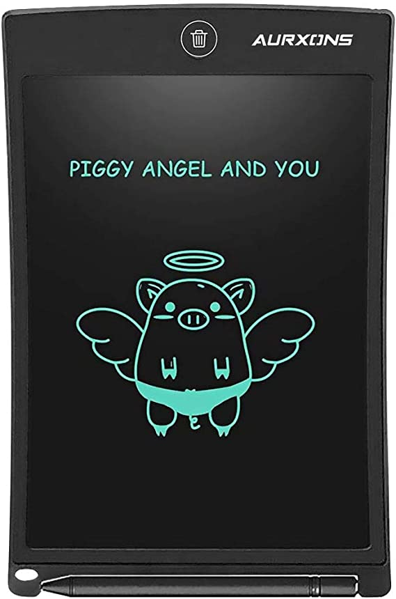 Doodle Erasable Magic for Kids Family Students Office Black Designer LDYOC Tablet Upgraded Version Electronic Writing Board LCD Drawing Graphics 8.5 Inch Digital Writing