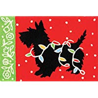 Jellybean Rug - Scottie & Christmas Lights