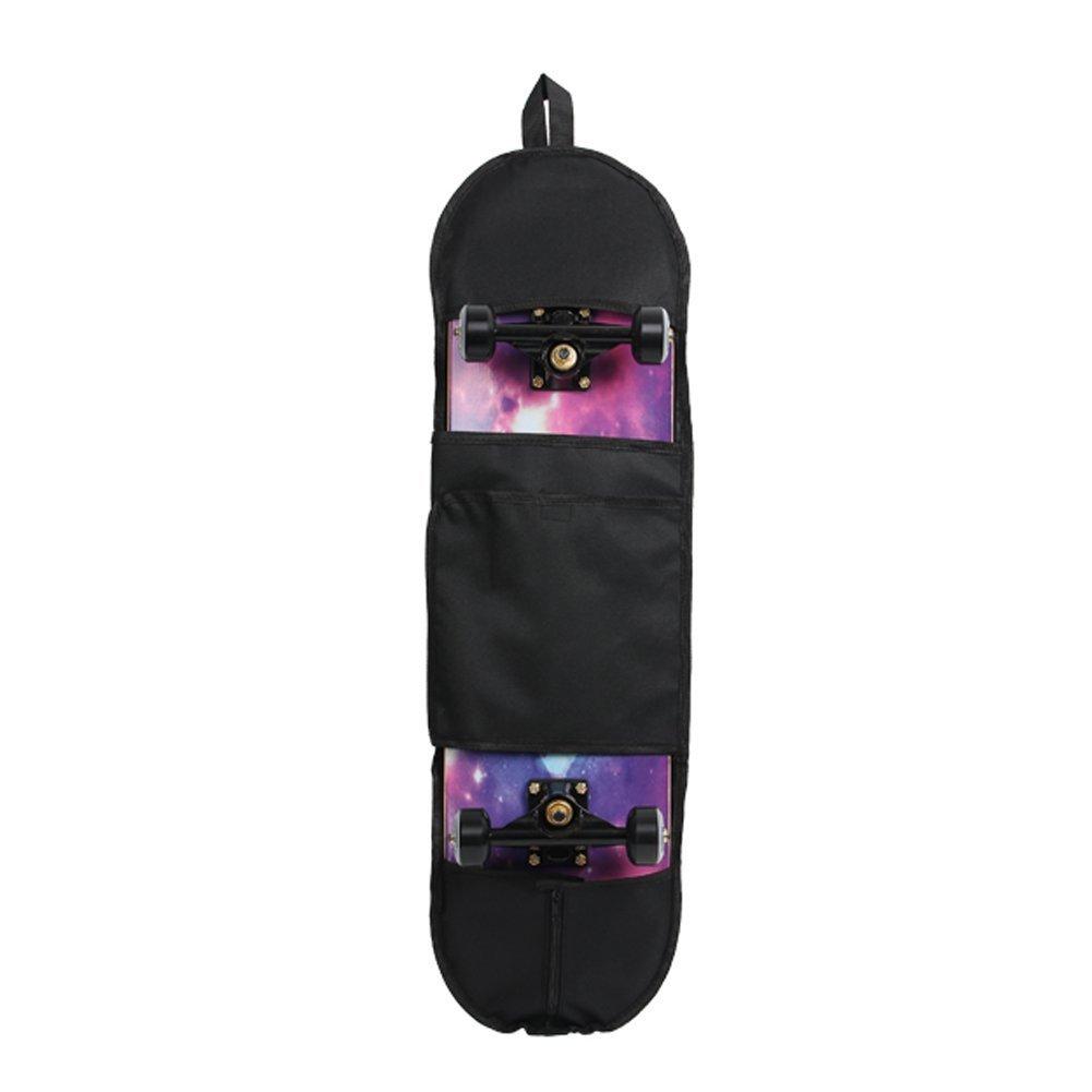 Monopatín bolsa bolsas de hombro ajustable 600d paño de Oxford resistente al agua apto para 80x 20cm/31, 5x 7, 9pulgadas monopatín hbb01 ZhuoLang