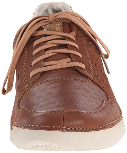 Hombre Hinton Method Casual Sneaker, Tan Leather, 10.5 M US