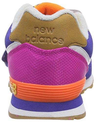 New Balance Violet Baskets Basses Fille 485390 41 violet pink pH4waq