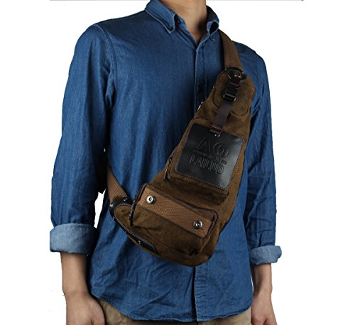Innturt Nylon Sling Bag Daypack Chest Bag Messenger Backpack ...
