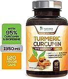 Best Curcumin 1000mgs - Turmeric Curcumin Max Potency 95% Curcuminoids 1950mg Review