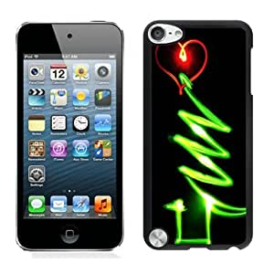 New Design Glow Christmas tree Black iPod Touch 5 Case 1