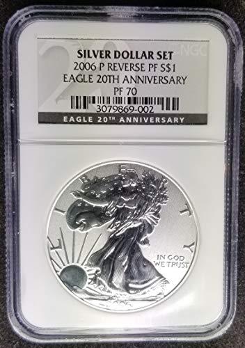 2006 P American Eagle Dollar PF-70 NGC