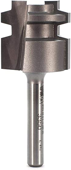 Whiteside Router Bits 3347 with 1-Inch Large Diameter 1//2-Inch Cutting Length
