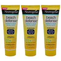 Neutrogena Beach Defense Sunscreen Lotion Broad Spectrum SPF 70, Travel Size (Pack...