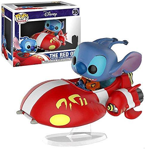 Rides: Disney Lilo /& Stitch 23234 BoxLunch Exclusive The Red One #35 Funko POP