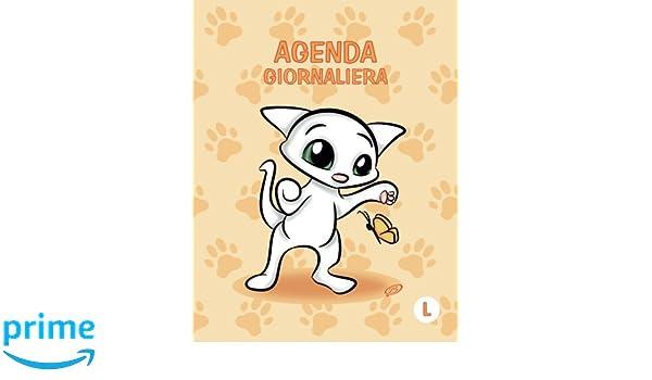 Agenda giornaliera - L: Arancione - Gatti - Perpetua (Senza ...