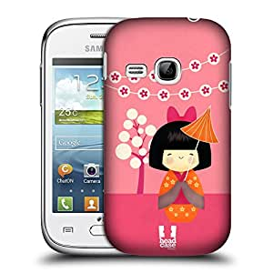 Head Case Designs Kimi Japanese Dolls Hard Back Case Cover for Samsung Galaxy Young S6310