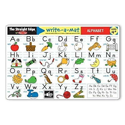 Alphabet Write-A-Mat Model: 5028 : Baby