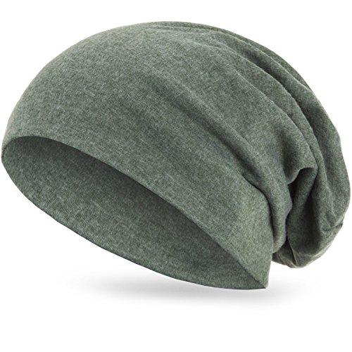 Style3 Slouch invierno fino Verde transpirable unisex y XXL ligero Beanie Gorro de qUTrBRq