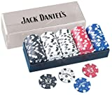 Jack Daniels Clay Poker Chip Set, 100-Piece