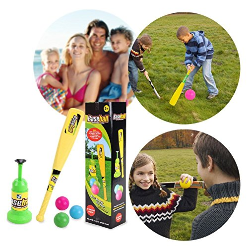 Baseball Trainer Practice Toy, Vpower Automatic Adjustable Launcher Baseball Educational Leisure Physical Training Team Sports Toys For Fun Family Home&Outdoor Game Toys by Vpower® (Image #3)