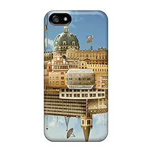 Fashionable Style Case Cover Skin For Iphone 5/5s- Collection Of Buildings