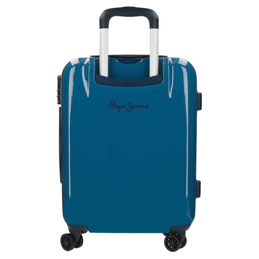 Maleta de cabina rígida 55cm Pepe Jeans Luggage Classic Azul ...
